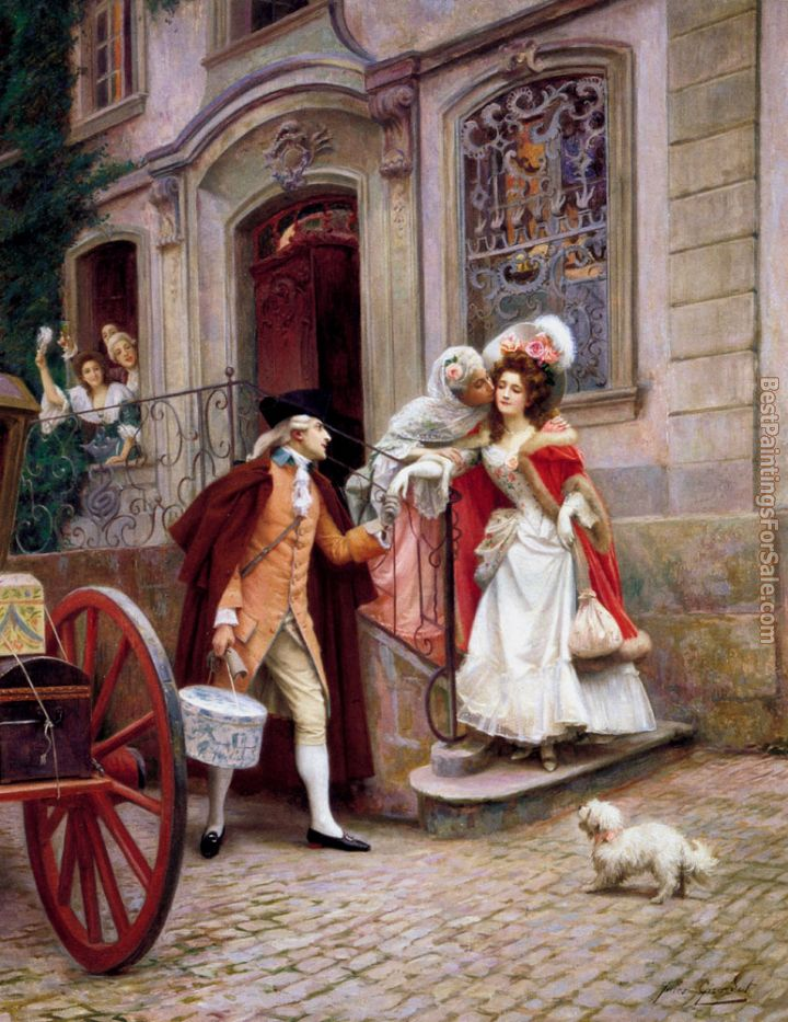 Jules Girardet Paintings for sale
