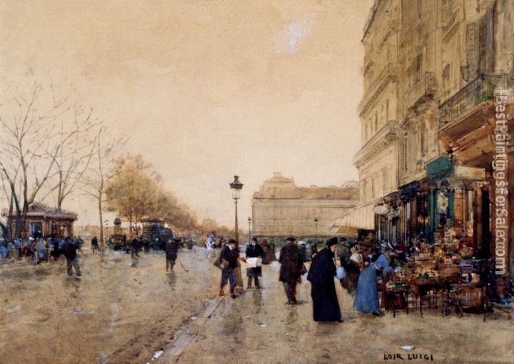Luigi Loir Paintings for sale