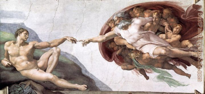 Michelangelo Buonarroti Paintings for sale