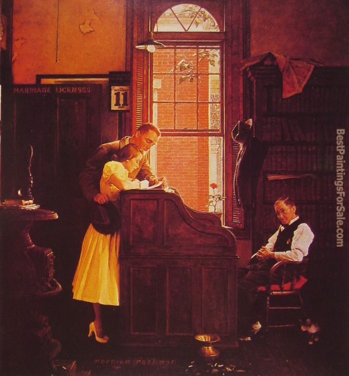 Norman Rockwell Paintings for sale