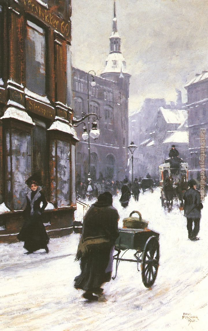 Paul Gustave Fischer Paintings for sale