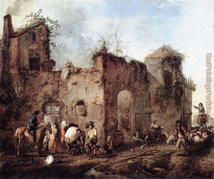 Philips Wouwerman Paintings for sale