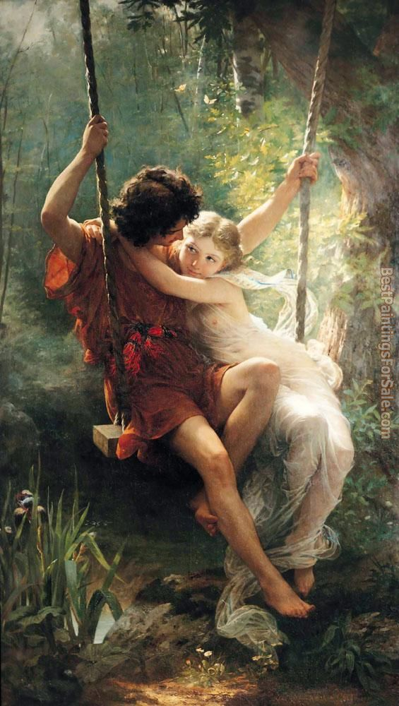 Pierre-Auguste Cot Paintings for sale