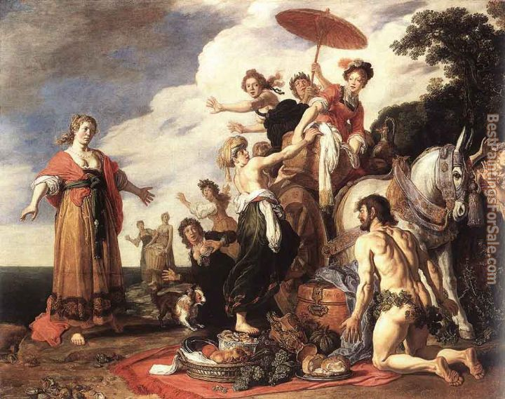 Pieter Lastman Paintings for sale