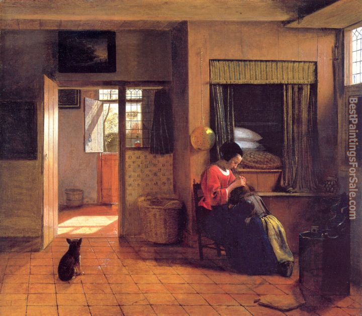 Pieter de Hooch Paintings for sale