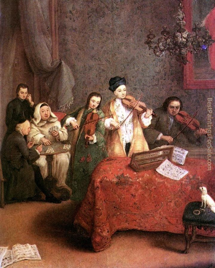 Pietro Longhi Paintings for sale