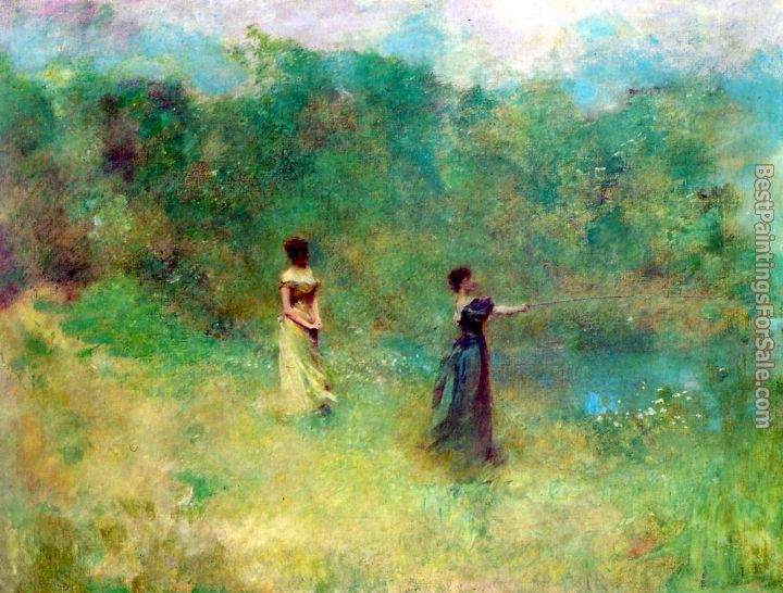 Thomas Wilmer Dewing Paintings for sale