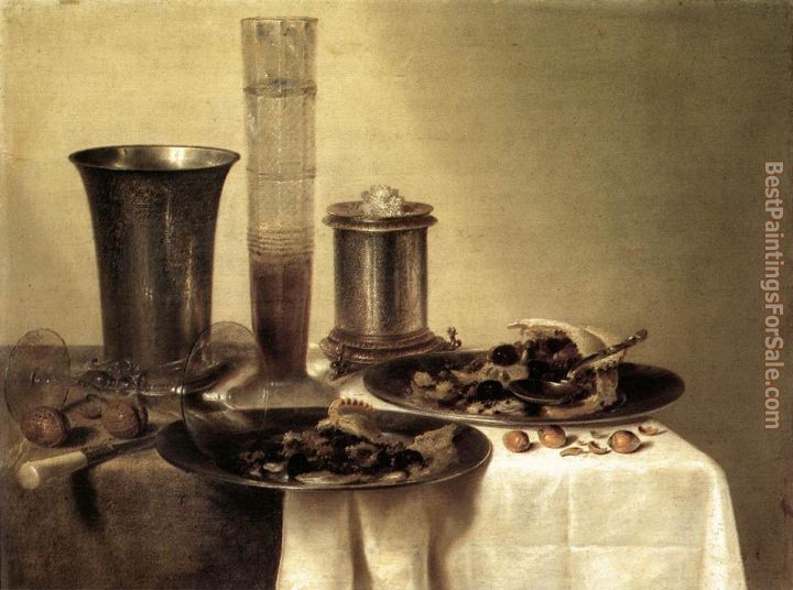 Willem Claesz Heda Paintings for sale