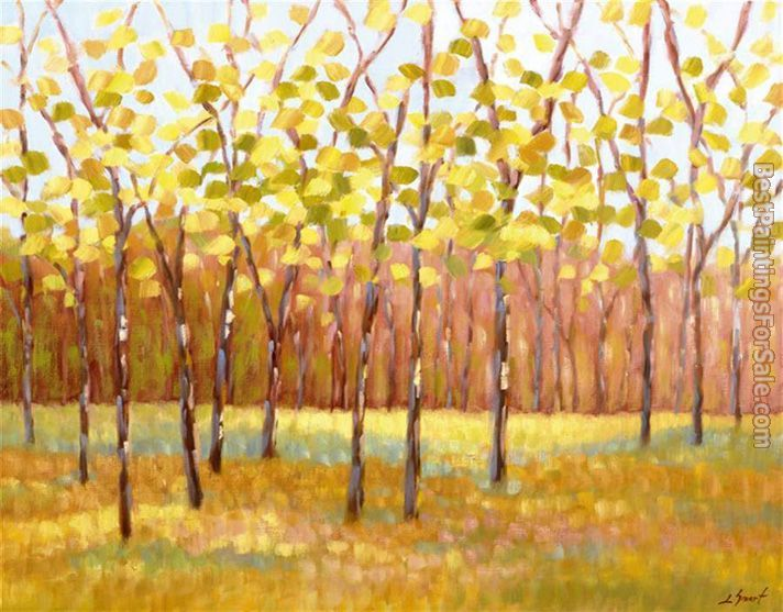 2012 Libby Smart Yellow and Green Trees