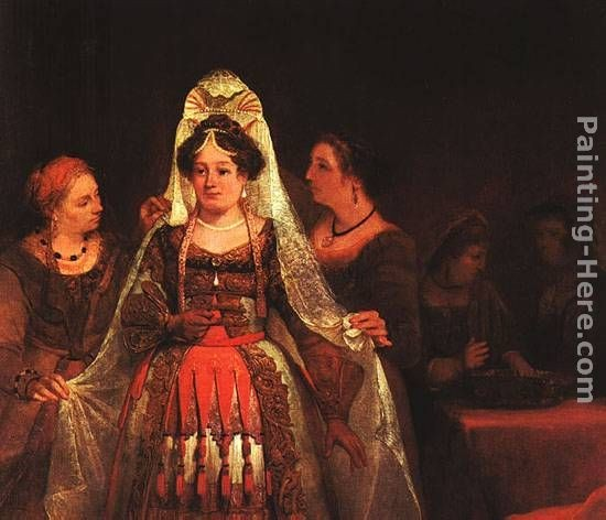 Aert de Gelder The Jewish Bride (Esther Bedecked)