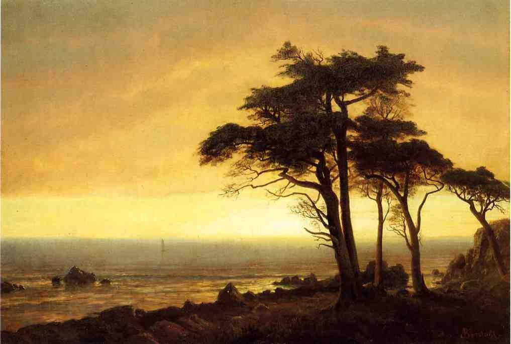 Albert Bierstadt California Coast