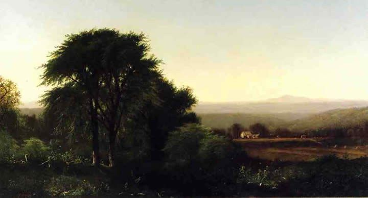 Alfred Thompson Bricher July Afternoon in Greenfield Massachusetts