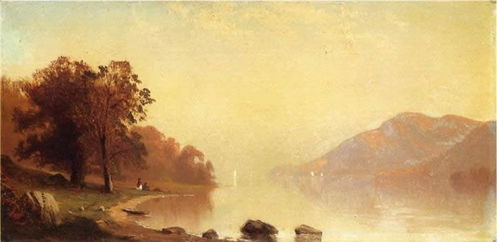 Alfred Thompson Bricher Lake George 2