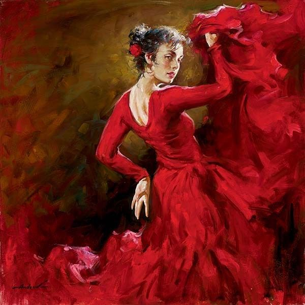 Andrew Atroshenko Crimson Dancer