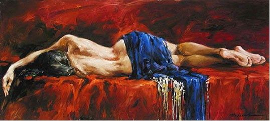 Andrew Atroshenko In Repose