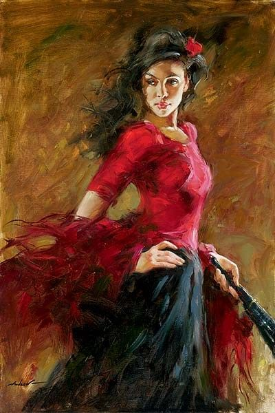 Andrew Atroshenko The Fan Dancer