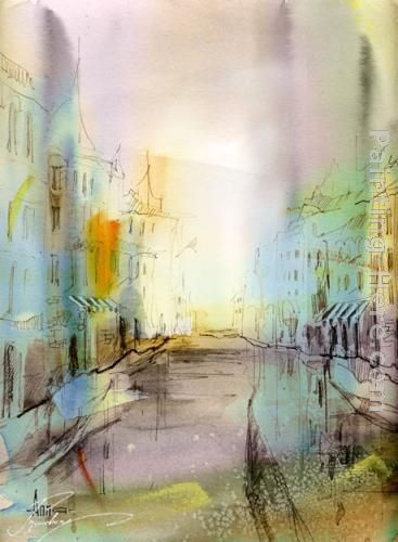 Anna Razumovskaya City I've never been