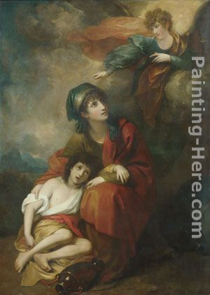 Benjamin West Hagar and Ishmael