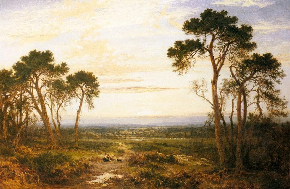Benjamin Williams Leader Across The Heath