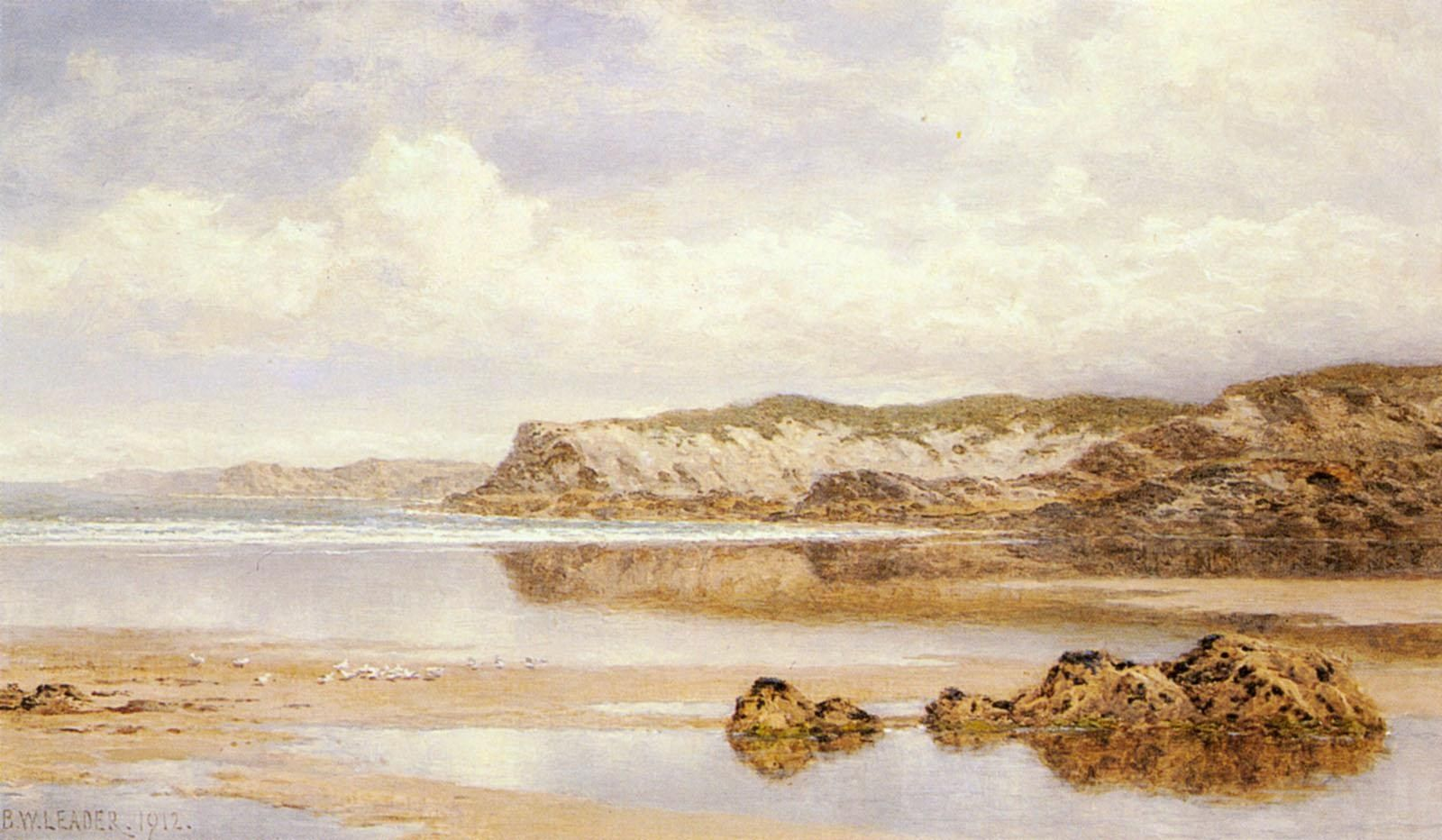Benjamin Williams Leader The Incoming Tide Porth Newquay