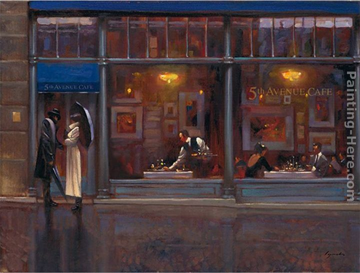Brent Lynch Fifth Avenue Cafe I