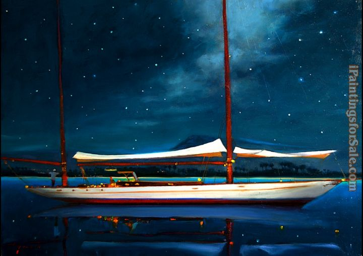 Brent Lynch Moonlight Ketch Antigua