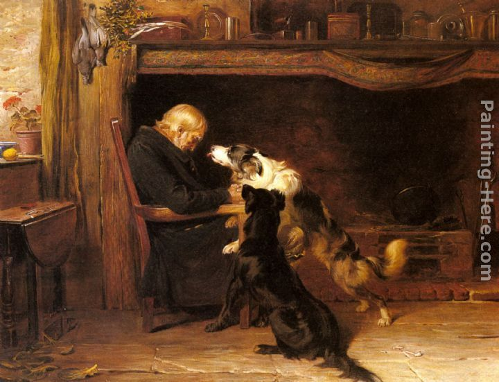 Briton Riviere The Long Sleep