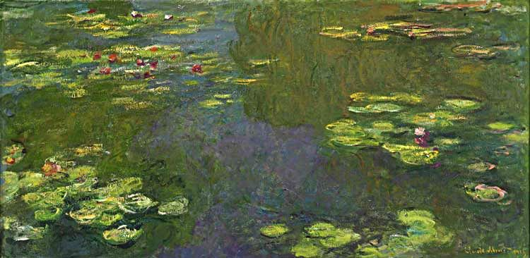 Claude Monet Le bassin aux nympheas