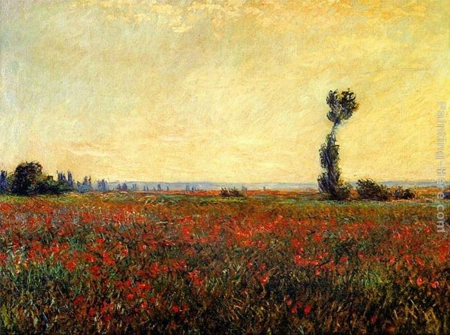 Claude Monet Poppy Landscape