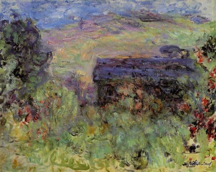 Claude Monet The House Seen through the Roses