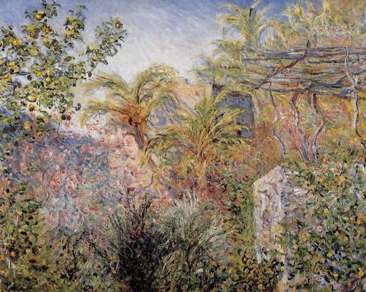 Claude Monet The Valley of Sasso Bordighera 1