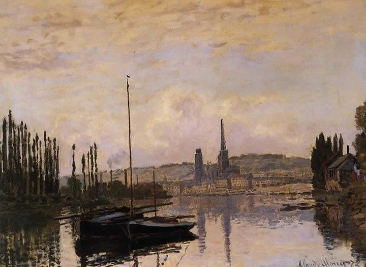 Claude Monet View of Rouen