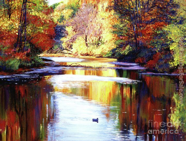 David Lloyd Glover Autumn Reflections