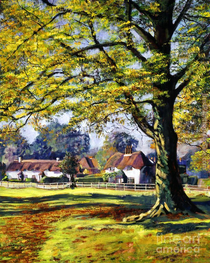 David Lloyd Glover english village