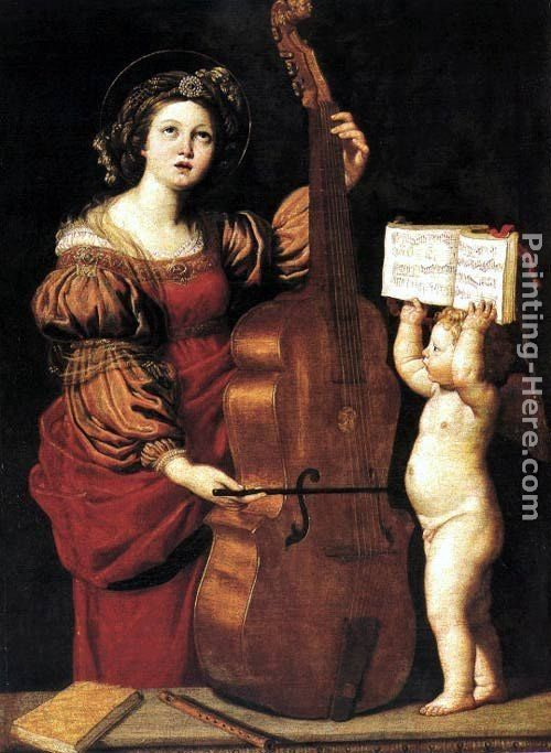 Domenichino St Cecilia