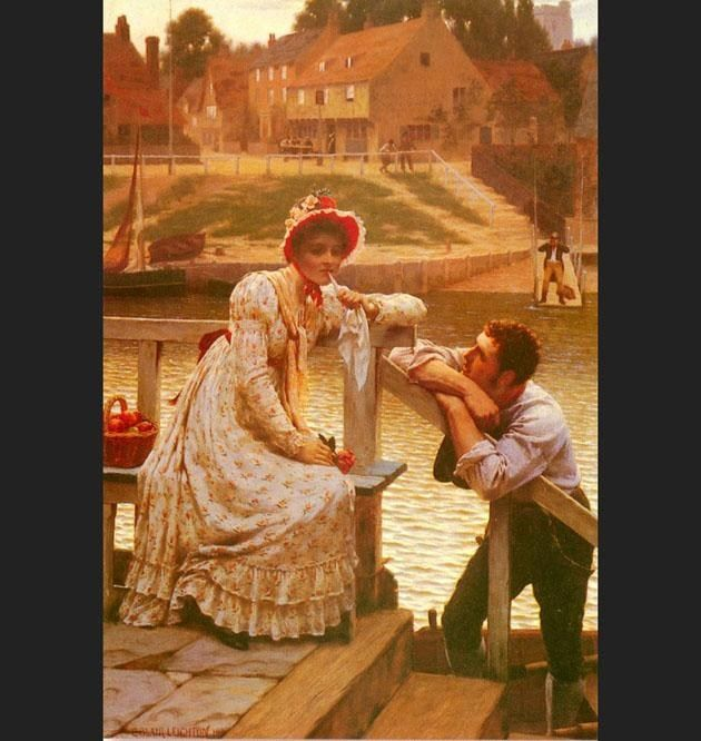 Edmund Blair Leighton Courtship