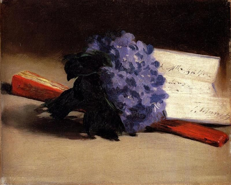 Edouard Manet Bouquet Of Violets