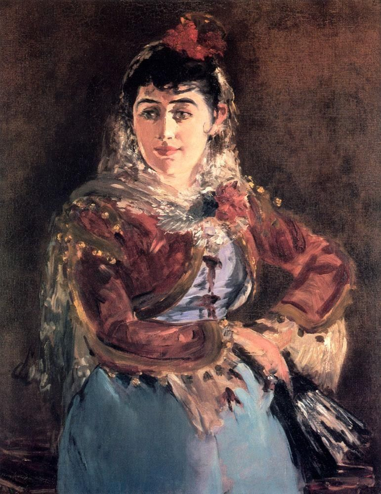 Edouard Manet Portrait of Emilie Ambre in the role of Carmen
