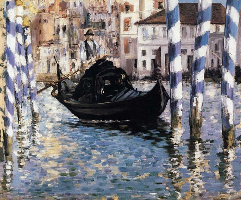 Edouard Manet The Grand Canal, Venice I