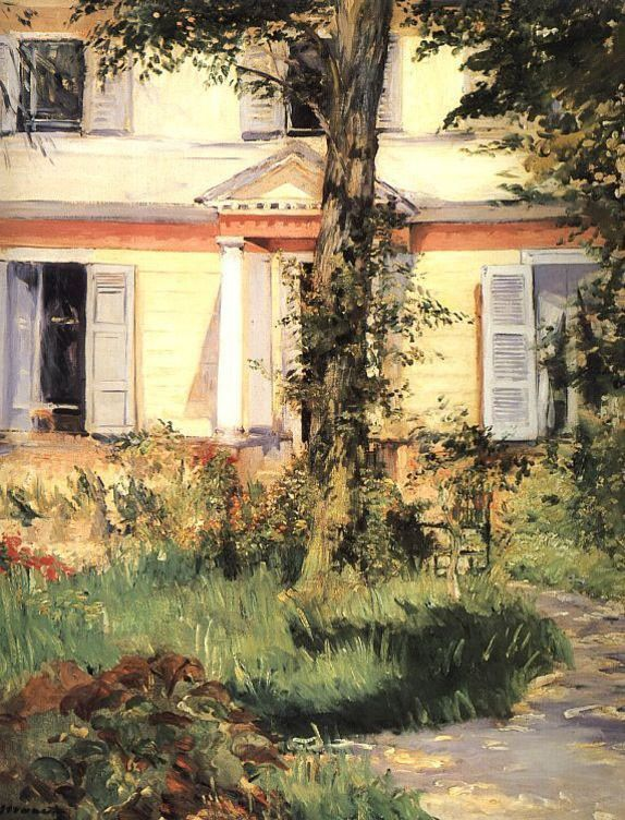 Edouard Manet The House at Rueil