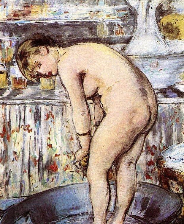 Edouard Manet Woman in a Tub