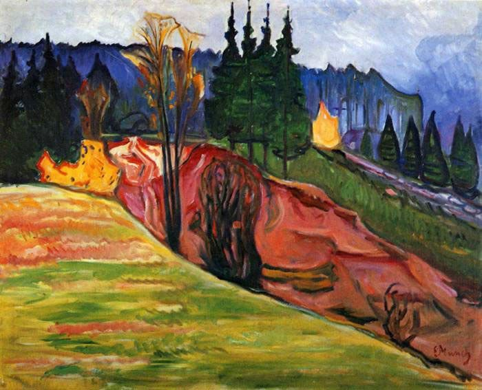 Edvard Munch From Thuringewald