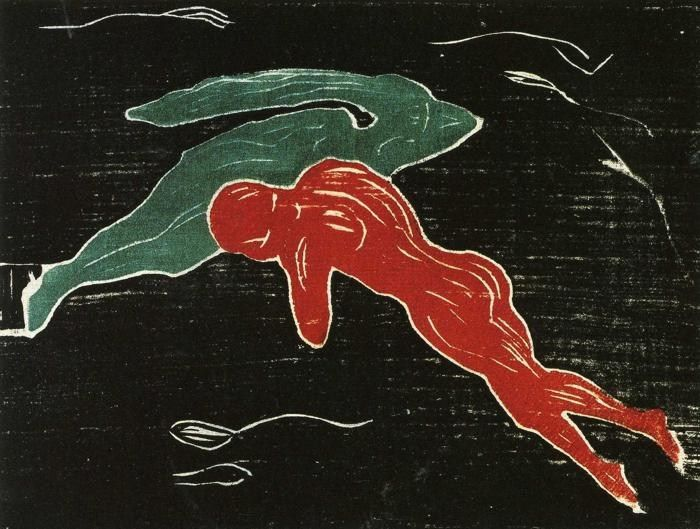 Edvard Munch Meeting in Outer Space