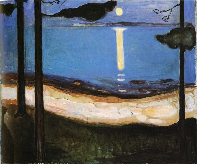 Edvard Munch Moonlight