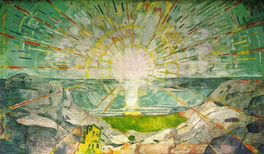 Edvard Munch The Sun