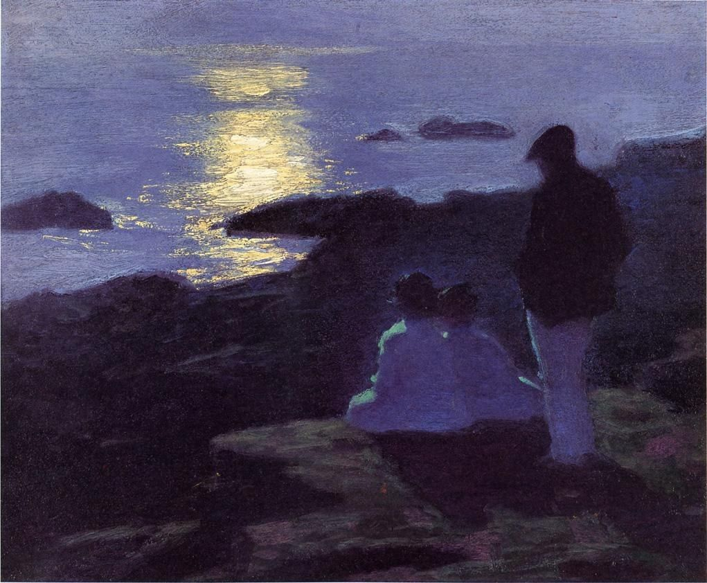 Edward Henry Potthast A Summer's Night