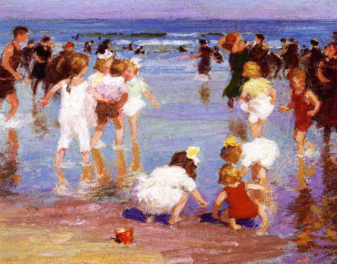Edward Henry Potthast Happy Days