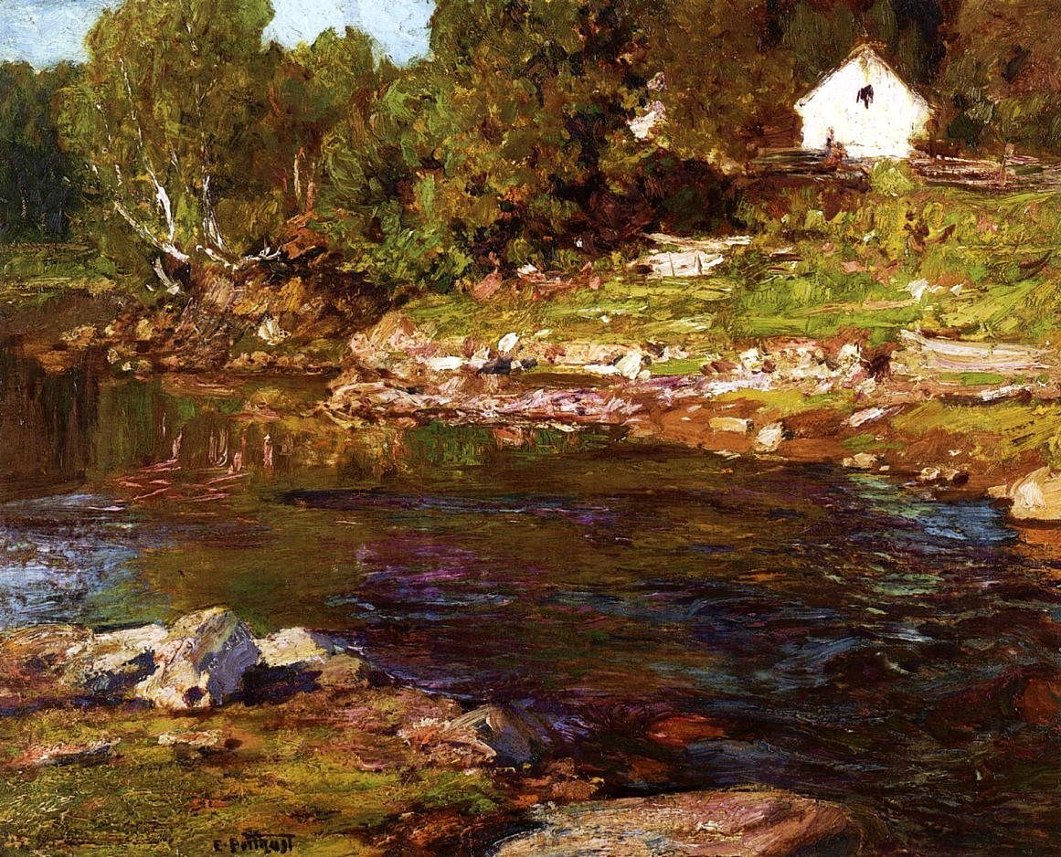 Edward Henry Potthast Souvenir of Canada