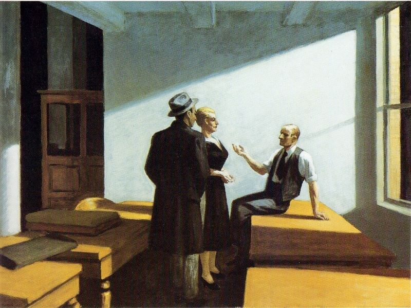 Edward Hopper Conference at Night