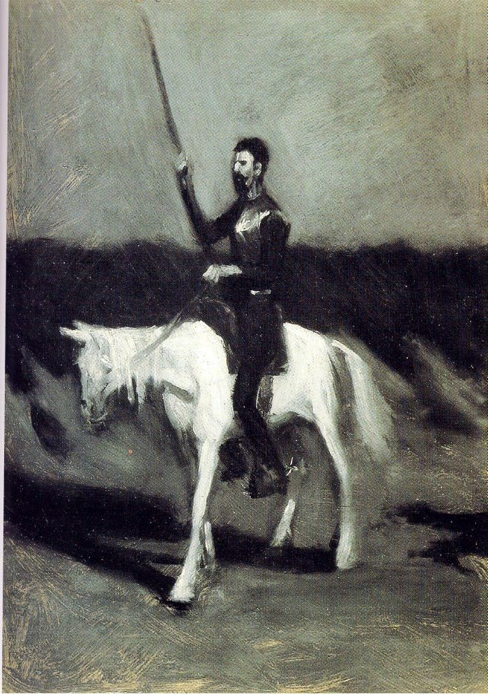 Edward Hopper Don Quixote on Horseback
